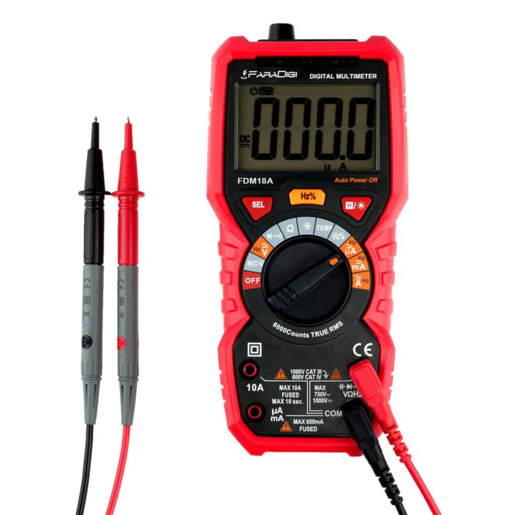 Faradigi Multimeter- Best Auto Ranging Multimeter