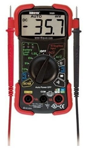 INNOVA 3320-Best Multimeter For Beginners
