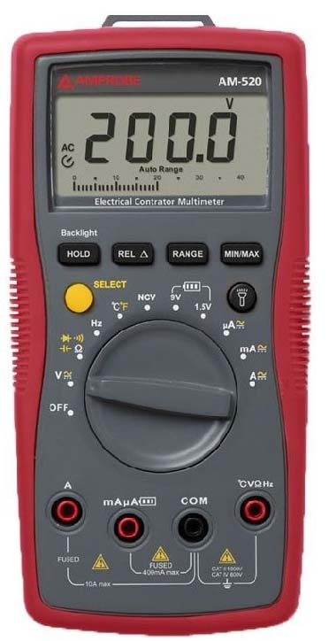 Amprobe AM-520- Best HVAC Digital Multimeter