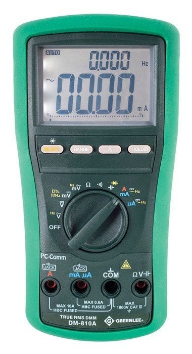 Greenlee DM-810A- Best Multimeter for HVAC
