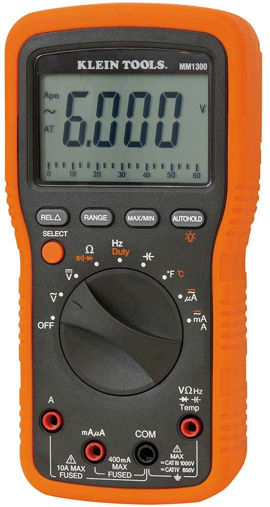Klein Tools MM1300-Best Electrical Meter for HVAC