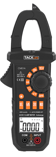 Tacklife CM01A- Best Clamp Meter for HVAC