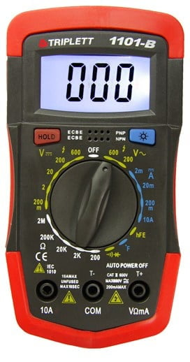 Triplett 1101-B- Best Meter for HVAC