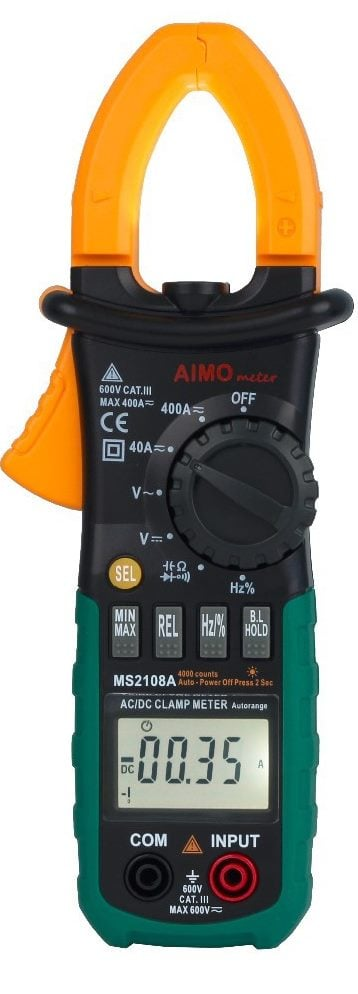 AIMO MS2108A- Best DC AMP Clamp Meter