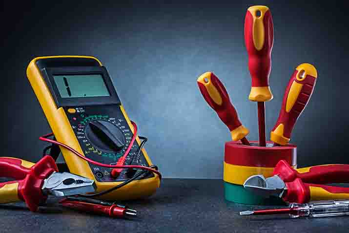 Who created the first multimeter