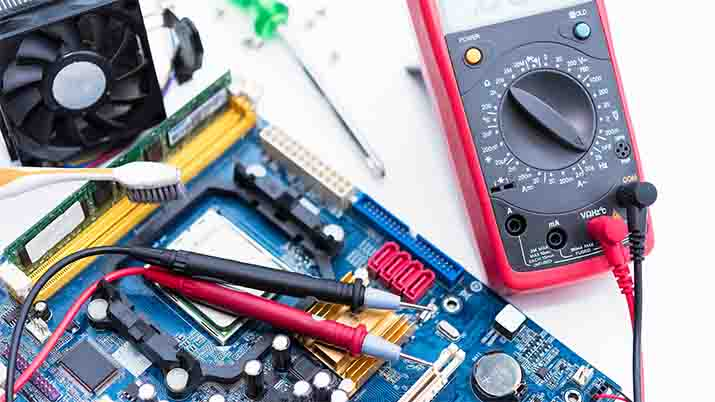 What are the essential parts of a multimeter?